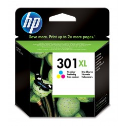 Cartucho HP 301 xl tricolor