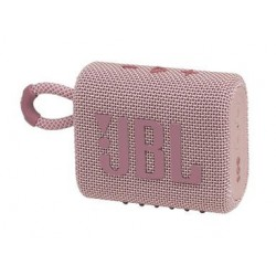 Altavoz JBL GO3 rosa