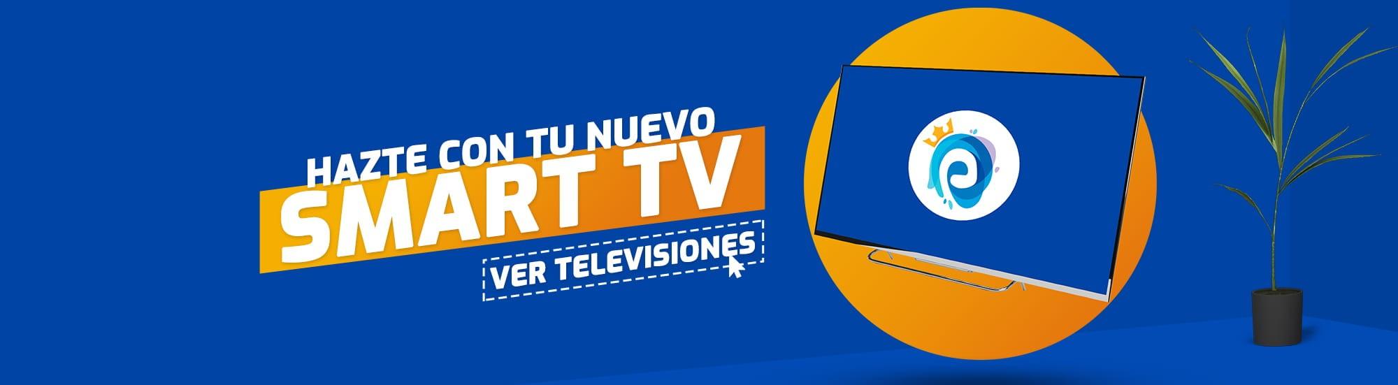 Compra tu Nuevo Televisor con Smart TV